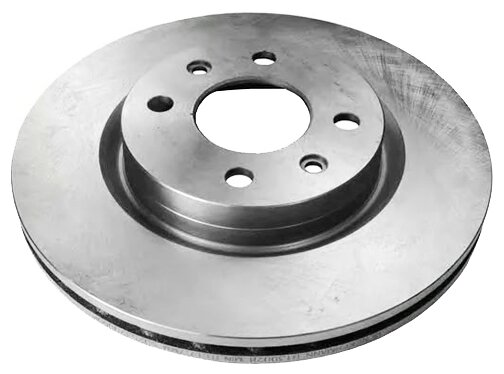 Тормозной диск передний DELPHI BG2625 259x20.6 для Renault, Nissan