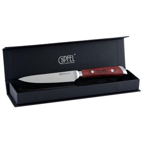 gipfel нож разделочный colombo 20 см коричневый GIPFEL Нож универсальный Colombo 12,7 см коричневый