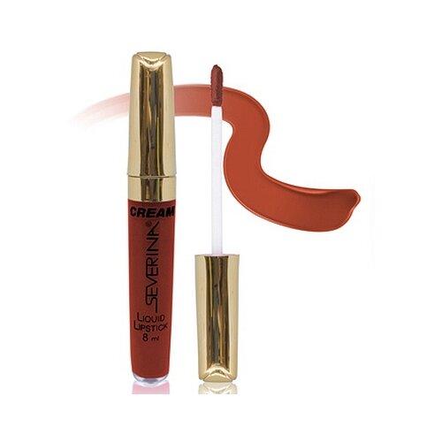 SEVERINA жидкая помада для губ Cream Liquid Lipstick, оттенок 11