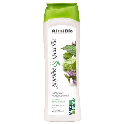 AltaiBio бальзам-кондиционер Alta Herbs Хмель и Крапива для всех типов волос, 250 мл