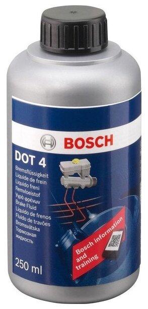 Тормозная жидкость Bosch DOT 4, Brake Fluid 0.25 л