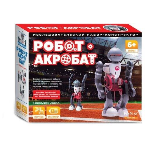 Купить Электромеханический конструктор ND Play На элементах питания 265616 Робот-акробат, Конструкторы
