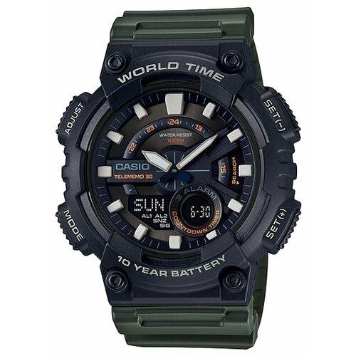 Наручные часы CASIO AEQ-110W-3A мужские часы casio aeq 110w 1a