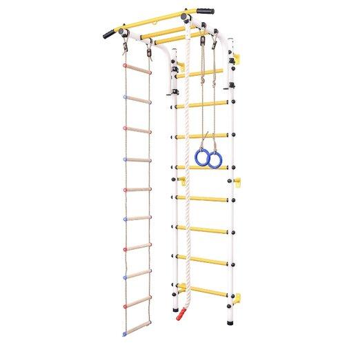 Купить Шведская стенка SportLim DS-11S белый, Игровые и спортивные комплексы и горки