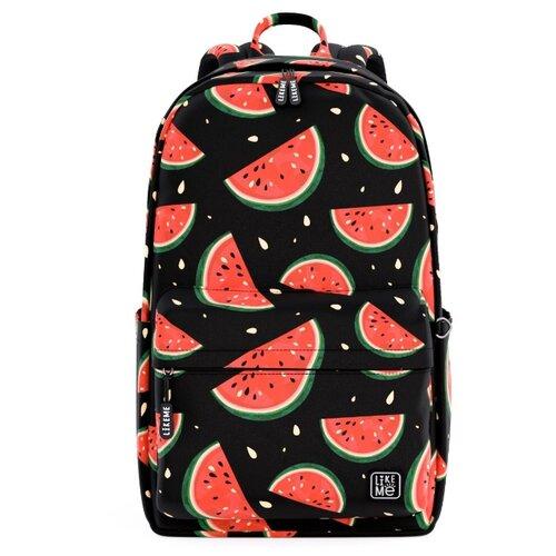 Купить Like Me рюкзак Teens Арбузы, черный, Рюкзаки, ранцы