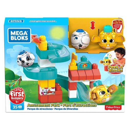 Конструктор Mega Bloks First Builders GKX70 Парк развлечений
