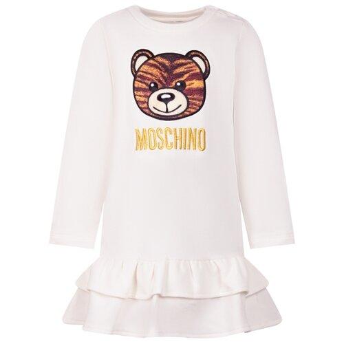 Платье MOSCHINO размер 86-92, белый, Платья и юбки  - купить со скидкой
