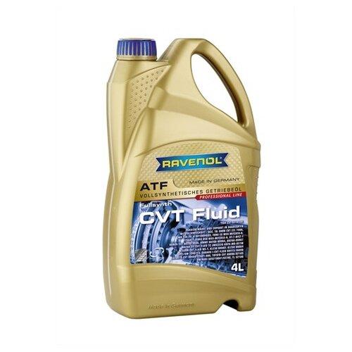 Масло трансмиссионное Ravenol CVT Fluid, 4 л трансмиссионное масло ravenol dps fluid 1 л