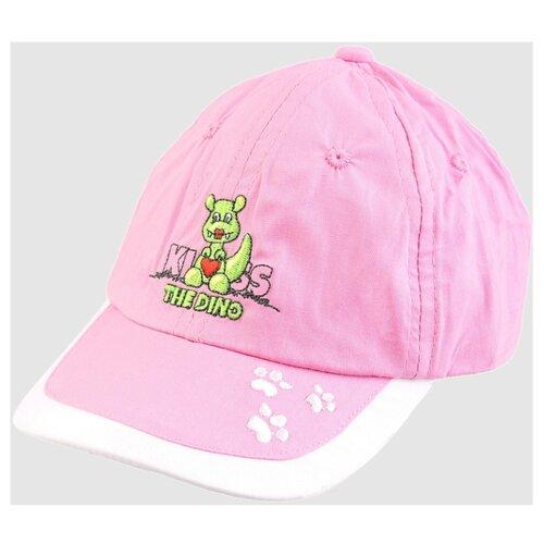 Купить Бейсболка Be Snazzy размер 46, розовый, Головные уборы