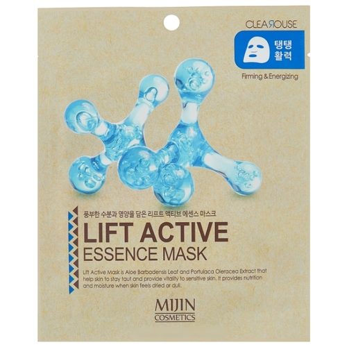 MIJIN Cosmetics тканевая маска Lift Active Essence Mask firming and rejuvenating с эффектом лифтинга