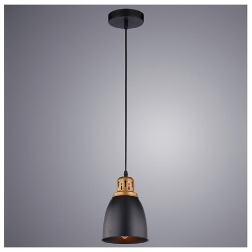 Светильник Arte Lamp Eurica A4248SP-1BK, E27, 60 Вт светильник arte lamp a4248sp 1bk eurica