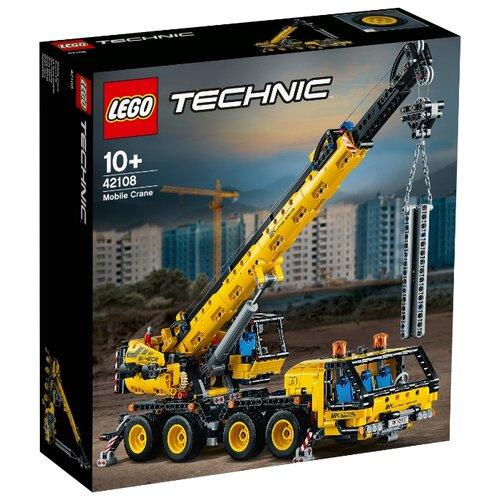 Купить Конструктор LEGO Technic 42108 Мобильный кран, Конструкторы
