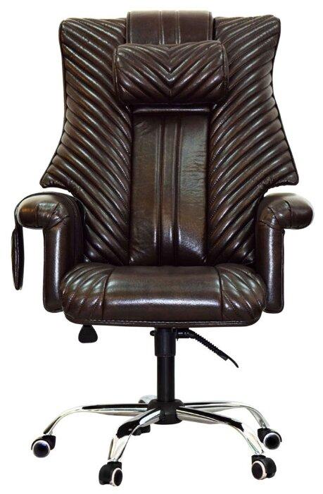 Массажное кресло EGO Prime EG1005 President Lux кофе фото 1