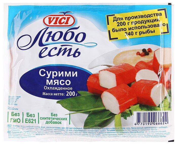 Vici Сурими мясо Любо есть охлажденное