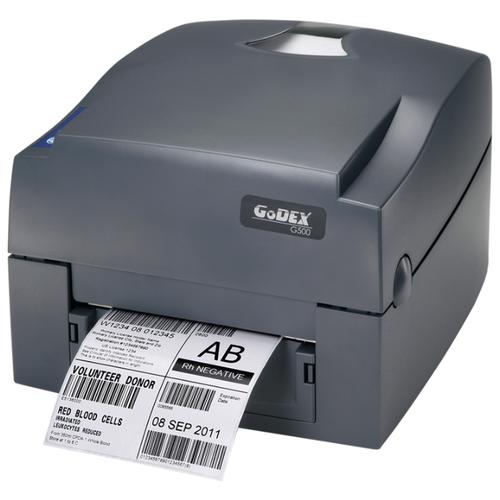 Фото - GODEX G530UES, термо-трансферной принтер этикеток, 300 dpi, и/ф USB+RS232+Ethernet (011-G53E02-004) godex rt863i