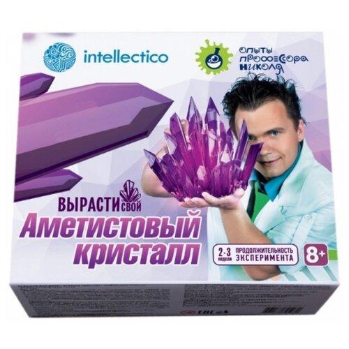 Купить Набор для исследований Intellectico Вырасти свой аметистовый кристалл (505), Наборы для исследований