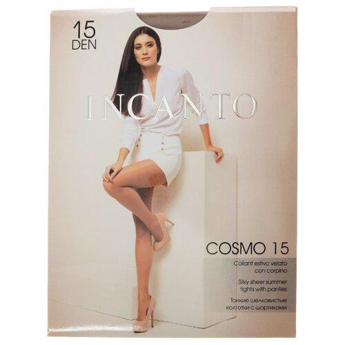 Колготки Incanto Cosmo 15 den, размер 4, daino (бежевый) колготки incanto elle 40 den размер 4 daino бежевый
