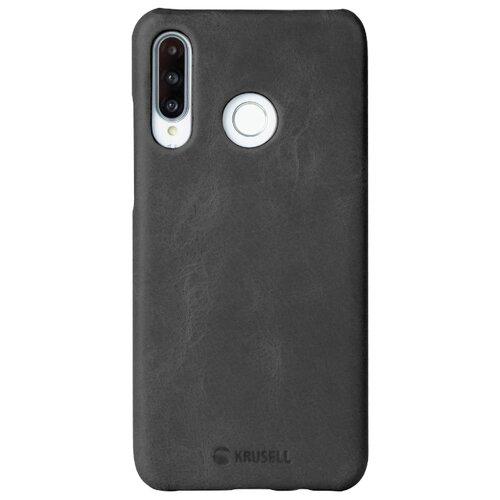 Чехол Krusell Sunne Cover для Huawei P30 Lite, кожаный черный