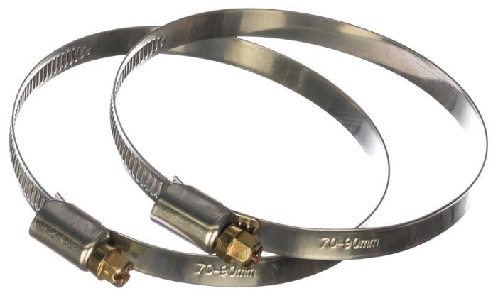 Набор хомутов Masterprof ИС.140248 70-90 мм 2 шт.