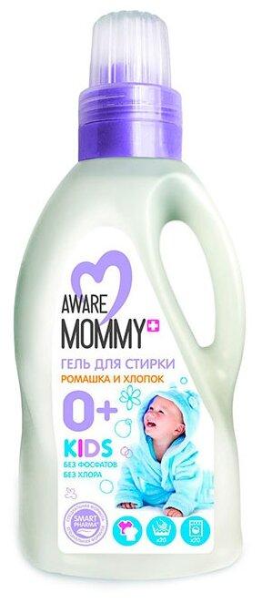 Гель для стирки Aware Mommy для детской одежды ромашка и хлопок