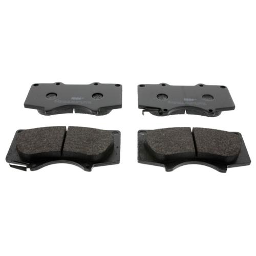 Фото - Дисковые тормозные колодки передние Ferodo FDB1698 для Mitsubishi, Toyota, Lexus (4 шт.) дисковые тормозные колодки передние ferodo fdb1639 для toyota subaru 4 шт
