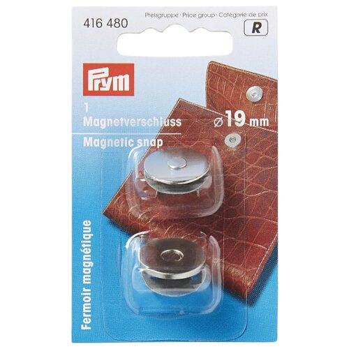 Купить Prym Магнитная застежка для сумок 1.9 см 416480, серебристый, Фурнитура