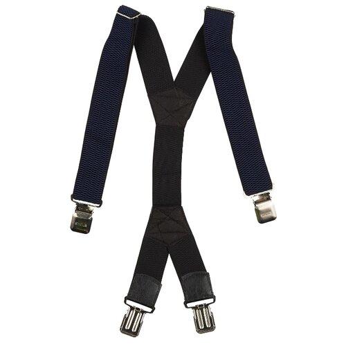 Фото - Подтяжки мужские X, ширина 40 мм, рифленые, цвет: синий подтяжки stilmark рифленые mono