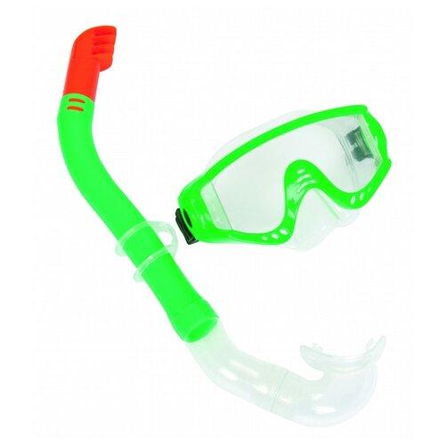 Набор для плавания Bestway Snorkelite зеленыйМаски и трубки<br>