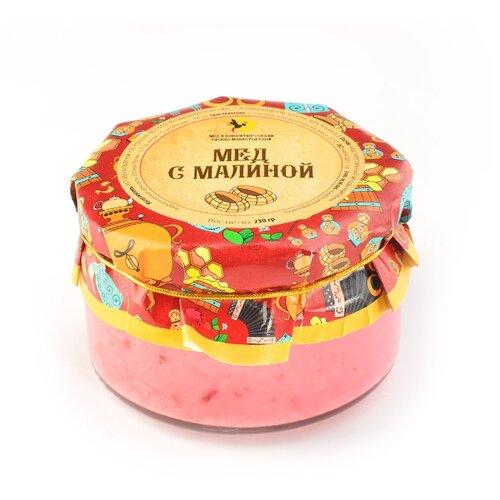Крем-мед Мед и Конфитюр Русский стиль с малиной 230 г