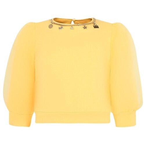 Купить Свитшот Elisabetta Franchi размер 152, желтый, Толстовки