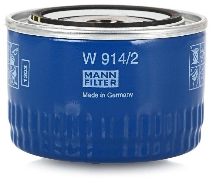 Масляный фильтр MANNFILTER W914/2