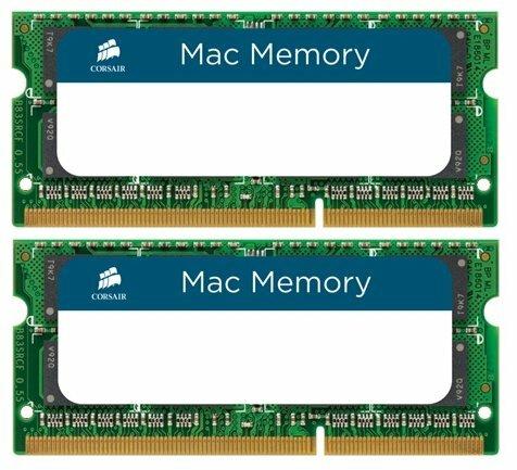 Оперативная память 8 GB 2 шт. Corsair CMSA16GX3M2A1333C9 — цены на Яндекс.Маркете