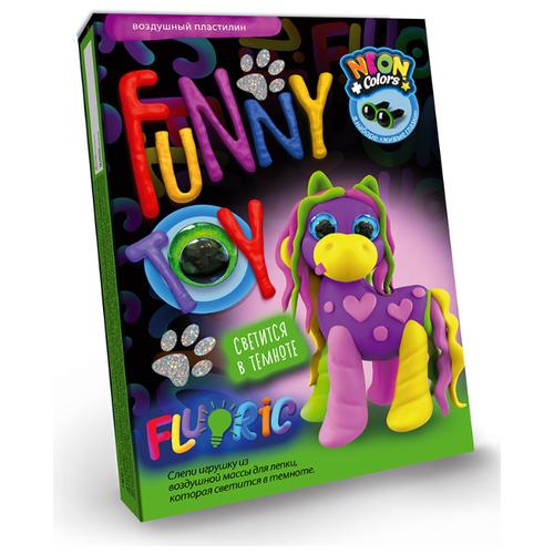 Масса для лепки Danko Toys Fluoric Пони (ARCL-FL-01-04), Пластилин и масса для лепки  - купить со скидкой