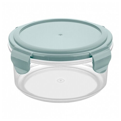 Phibo Контейнер Smart lock 0,55 л прозрачный/бирюзовый