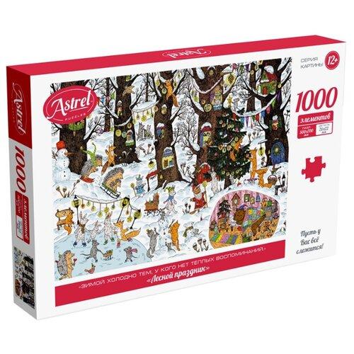 Купить Пазл Origami Astrel. Лесной праздник (5618), 1000 дет., Пазлы