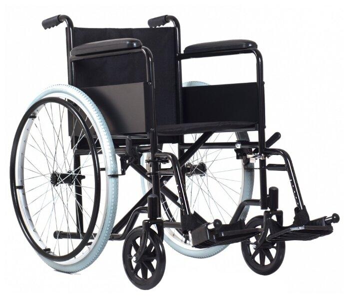 Кресло-коляска механическое Ortonica Base 100, ширина сиденья: 505 мм