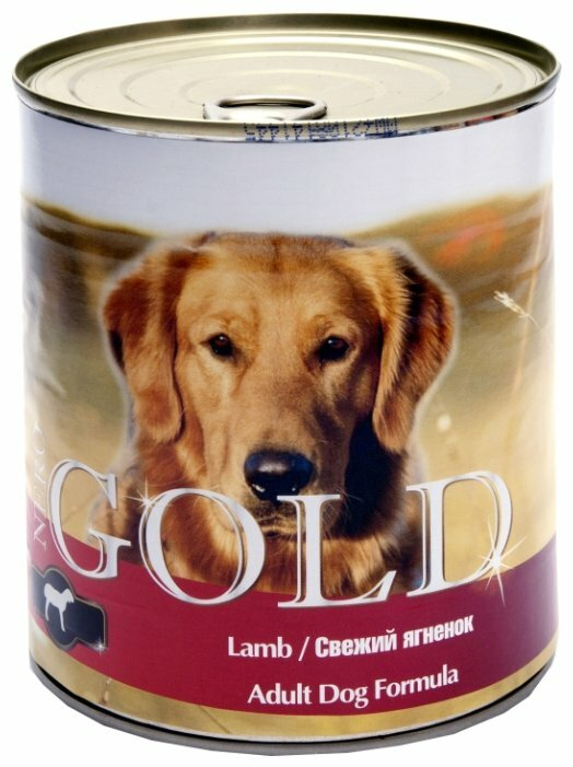 Корм для собак Nero Gold ягненок 810г