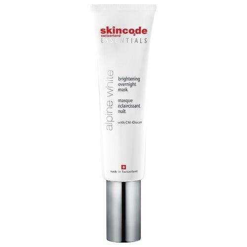 Купить Skincode Alpine White Осветляющая ночная маска, 50 мл