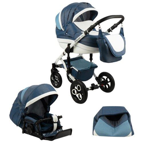 Купить Универсальная коляска Marimex Marco (2 в 1) синий/голубой, Коляски