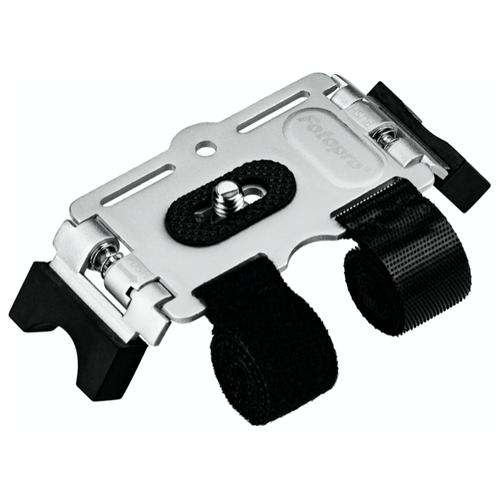 Фото - Fotopro AM-801 Крепление на велосипед для экшен-камер Серебро смеситель timo ritz 0143f серебро для кухни