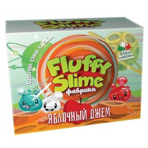 Купить Набор Инновации для детей Fluffy slime фабрика. Яблочный джем, Наборы для исследований