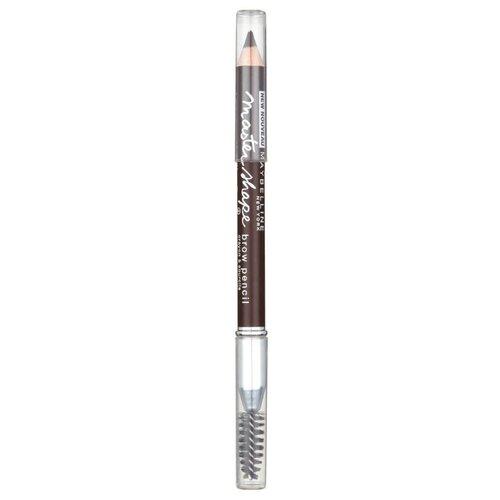 Maybelline New York карандаш Master Shape, оттенок темно-коричневый недорого