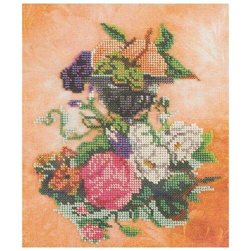 Купить Радуга бисера Набор для вышивания бисером Полонез 20х24 см (В211), Наборы для вышивания