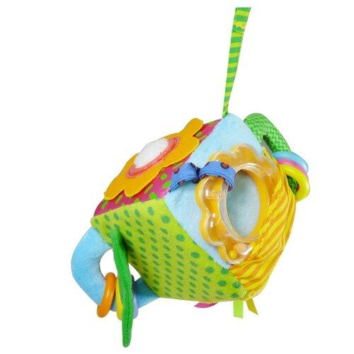 Купить Подвесная игрушка Biba Toys Веселый сад (GD013) голубой/зеленый/желтый, Подвески
