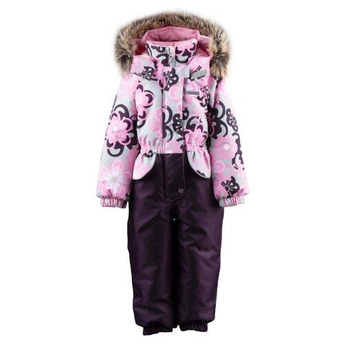 Купить Комбинезон KERRY FRAN K19409 А размер 80, 1270 розовый/коричневый, Теплые комбинезоны