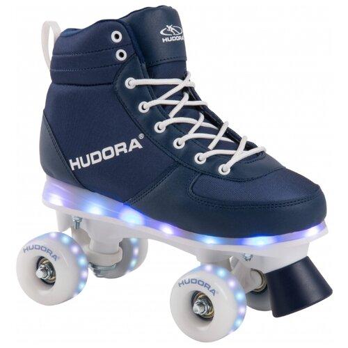 Роликовые коньки HUDORA Advanced LED р. 31 – 32
