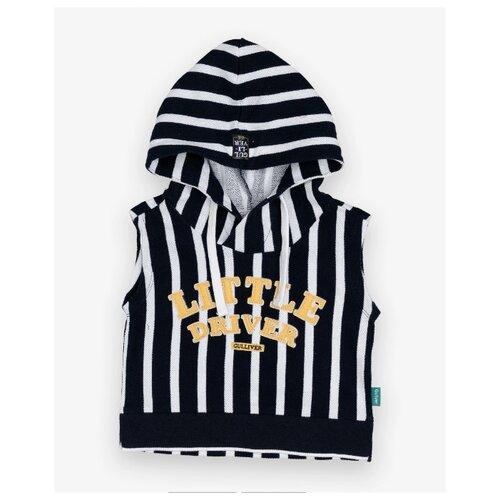 Купить Жилет Gulliver Baby размер 86, черный, Джемперы и толстовки