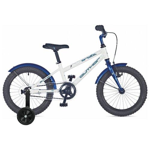 Детский велосипед Author Orbit (2019) белый/синий 9 (требует финальной сборки) дорожный велосипед author