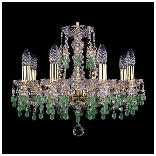 Люстра Bohemia Ivele Crystal 1410/8/160 G V5001, E14, 320 Вт бра bohemia ivele 1402b 2 160 g m701