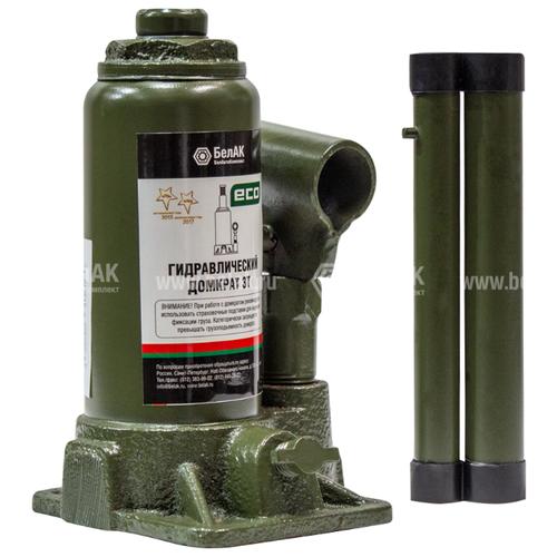 Домкрат бутылочный гидравлический БелАвтоКомплект ЭКО БАК.70012 (3 т) темно-зеленый сумка женская baggini цвет темно зеленый 29607 53 page 3